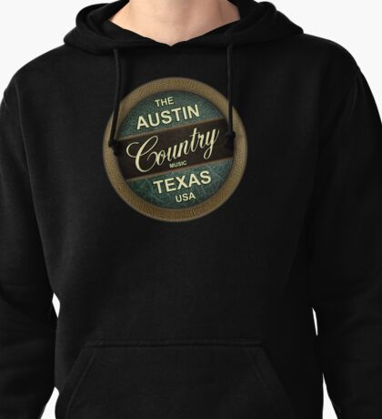 Austin Country Music Texas Pullover Hoodie