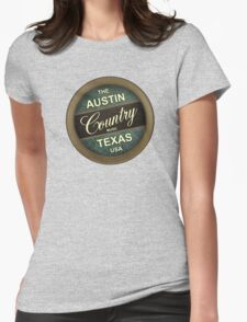Austin Country Music Texas Womens Fitted T-Shirt