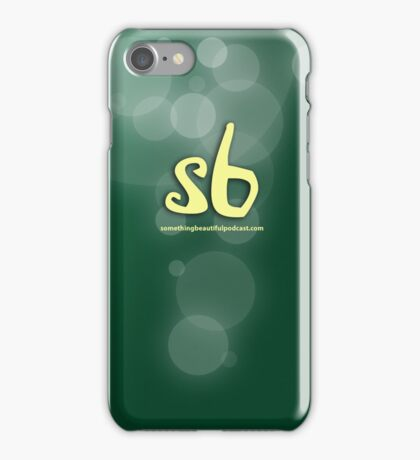 sbpodcast green bubbles iPhone Case/Skin