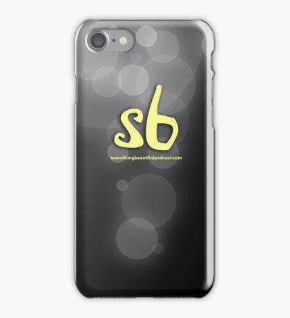 sbpodcast black bubbles iPhone Case/Skin