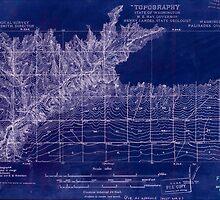 USGS Topo Map Washington State WA Palisades 243064 1911 48000 Inverted by wetdryvac