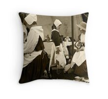 Learning the Skills Throw Pillow
