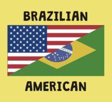 Brazilian American One Piece - Short Sleeve