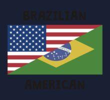 Brazilian American Baby Tee