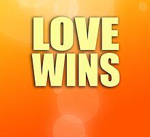 Love Wins - Orange by jdblundell