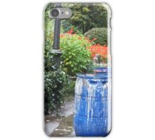 Blue Barrels iPhone Case/Skin