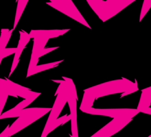 Drop The Bass Shield  Sticker