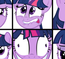 Emotions of Twilight Sparkle Sticker