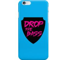 Drop The Bass Shield  iPhone Case/Skin