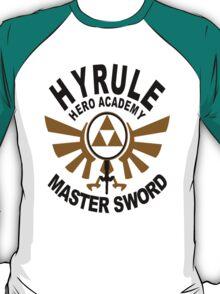 Hyrule Hero Academy Master Sword T-Shirt