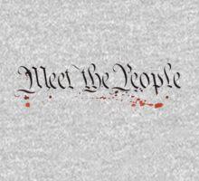 Meet The People - Marvin Sunk Kids Tee