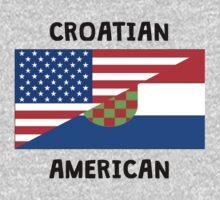 Croatian American Kids Tee