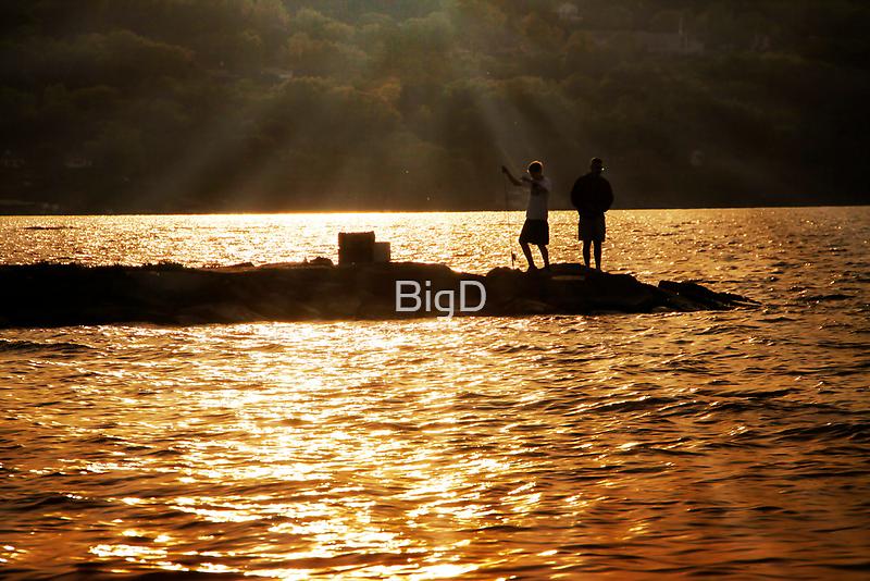 Gone Fishing on Seneca Lake by BigD