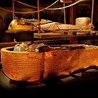 King Tut's Burial recreation by gwarn