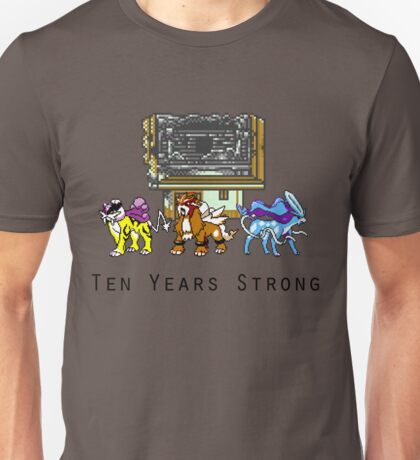 10 Years Strong Unisex T-Shirt