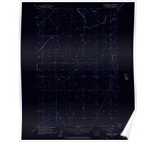 USGS Topo Map Washington State WA Winchester NE 244734 1956 24000 Inverted Poster
