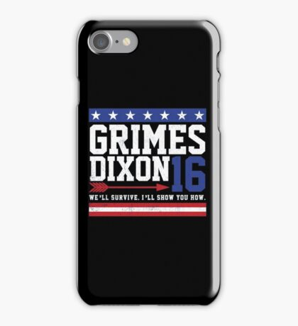 Grimes Dixon President 2016 iPhone Case/Skin