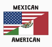 Mexican American Baby Tee