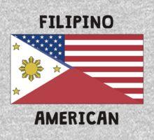 Filipino American Kids Tee