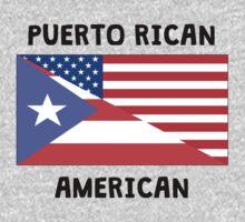 Puerto Rican American Kids Tee