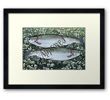 Pisces Approved Framed Print