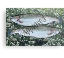 Pisces Approved Metal Print