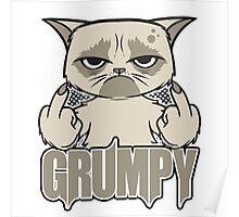 Grumpy Face Poster
