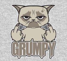 Grumpy Face Kids Tee