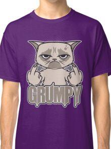 Grumpy Face Classic T-Shirt