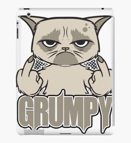 Grumpy Face iPad Case/Skin