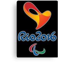 Paralympics, Rio 2016 Paralympic games Canvas Print