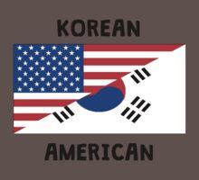Korean American One Piece - Short Sleeve
