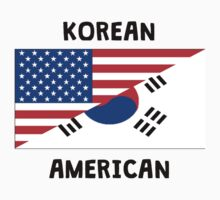 Korean American Kids Tee