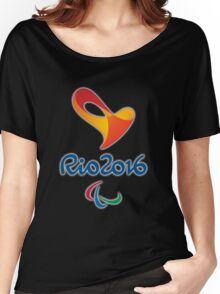Paralympics, Rio 2016 Paralympic games Women's Relaxed Fit T-Shirt
