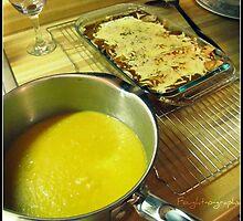 187/365 Boyfriend made Valentine's dinner. by Mascarah