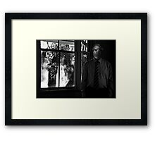 dreams & suburban myth (winters day)  Framed Print