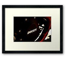 DUCATI 1100 EVO - LIEPER'S FORK 02-26-12  Framed Print
