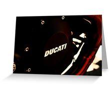 DUCATI 1100 EVO - LIEPER'S FORK 02-26-12  Greeting Card