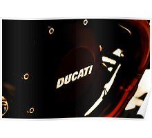DUCATI 1100 EVO - LIEPER'S FORK 02-26-12  Poster