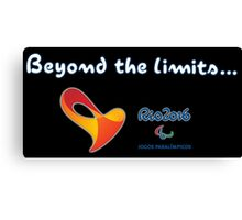 Paralympics, Rio 2016: Beyond the limits Canvas Print