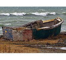 Lonely Acadian Boat Photographic Print