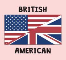 British American Kids Tee