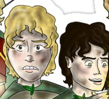 Return Of The King: The Hobbits Sticker