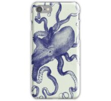 vintage octopus iphone iPhone Case/Skin