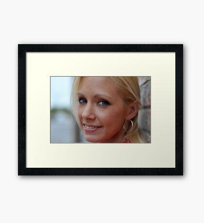 Holly RO Framed Print