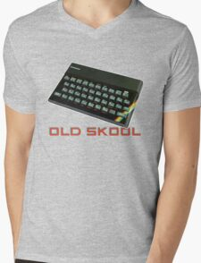 Spectrum Old Skool Mens V-Neck T-Shirt