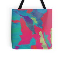 You Are Here Magenta Tote Bag