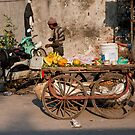 Fruit Cart by phil decocco