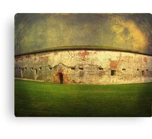 Finding History at Fort Macon Canvas Print