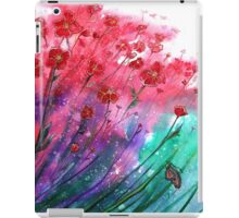 Dancing Poppies - Flowers  iPad Case/Skin